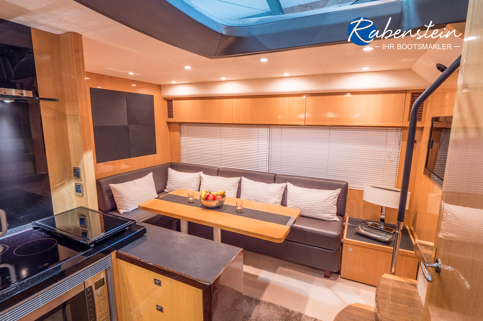 This Princess V52 is for sale - Interior view
