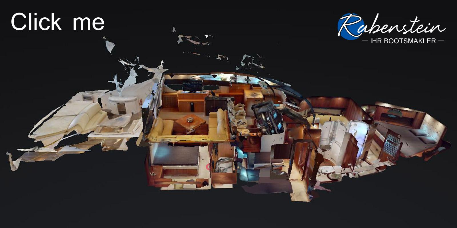 Hier sehen Sie den virtuellen Rundgang in einer Sunseeker Predator 72