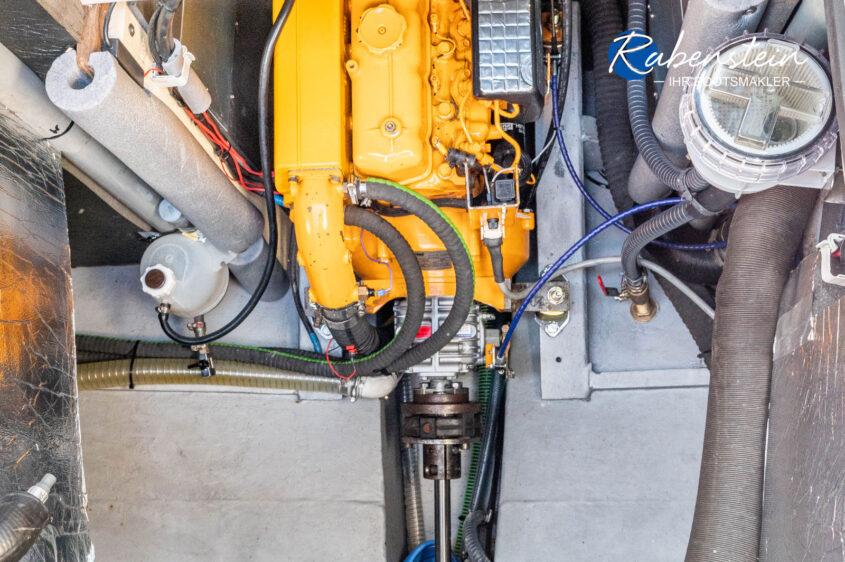 Hier der Motor der Cumulant 37