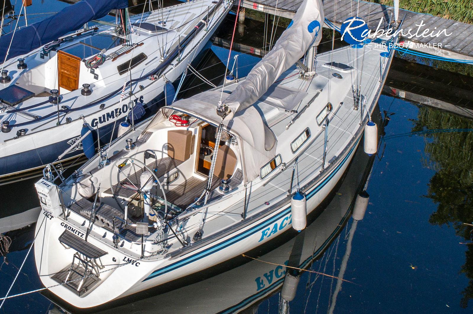 Diese Bianca 360 steht zum Verkauf, hier die Ansicht von oben.
