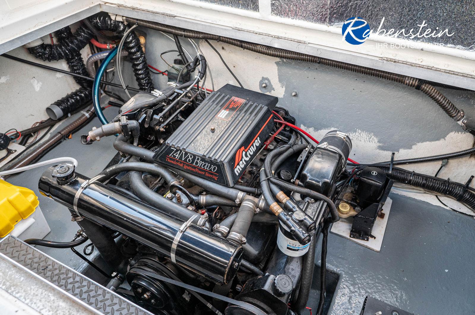 Hier der Motor der Formula F-26