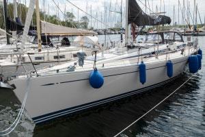 Diese Swan 48 steht zum Verkauf in Neustadt